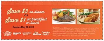 Ryan Buffet Coupon by Save 3 Or 1 Expires 5 29 2014 Http Takecoupons Net