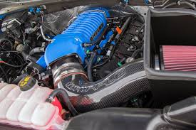 Old Ford Truck Engines - shelby brings the blue thunder to sema with 700hp f 150 truck