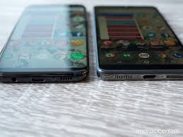 essential phone vs samsung galaxy s8 the no bezel battle