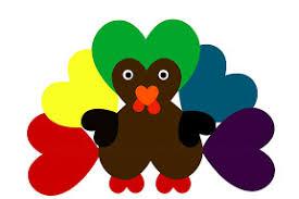 gratitude thankful heart turkey craft to art