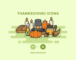 free thanksgiving icon pack free design resources