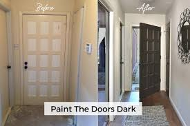 is it better to paint or stain your kitchen cabinets paint or stain your doors to add some dramatic