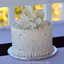 wedding cake layer wedding cake layer photo single layer wedding cakes best 25 simple