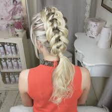 the four strand knot braid by sweethearts hair design scheduled