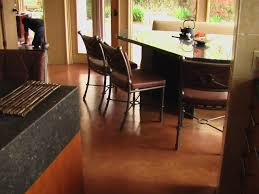 kitchen flooring ideas flooring cement kitchen floor best concrete basement floors