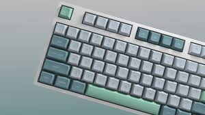 dsa dolch with rgb mods signature plastics made keycaps http