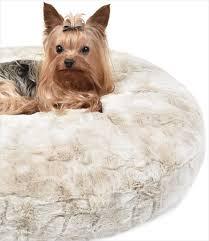 peluche plush cuddle cloud dog beds bunny cream round u2013 g w little
