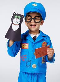 fancy dress boys multicoloured postman pat costume 1 6