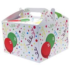 balloon in a box balloon carry handle birthday box for balloons or gifts balloons