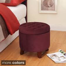 round ottomans u0026 storage ottomans shop the best deals for oct