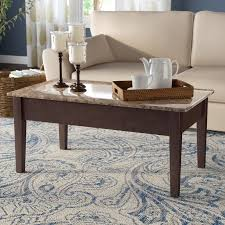 lift top coffee table with storage andover mills carterville lift top coffee table with storage