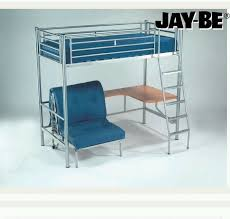 High Sleeper With Futon Creative Of High Sleeper With Futon And Desk With Blue Metal Frame