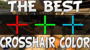 cs go what is the best crosshair color youtube