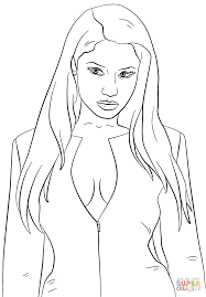 nicki minaj coloring page free printable coloring pages