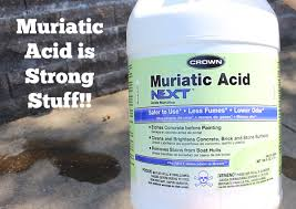 Acid For Bathroom Cleaning How To Clean Efflorescence Off Stone Walls Some Elbow Grease And