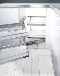 Corner Kitchen Cabinet Solutions by Kesseböhmer Magiccorner