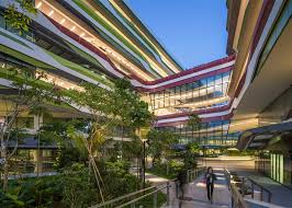 UNStudio pletes first buildings for Singapore university