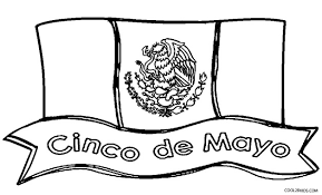 Printable Cinco De Mayo Coloring Pages For Kids Cool2bkids Flag Color Page