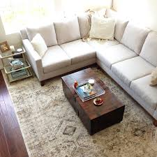 livingroom rug neutral area rugs add a touch of casual design with this ivory