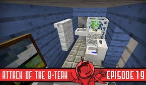 smallest minecraft bathroom ever attack b team 19