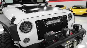 jeep unlimited custom 2016 jeep wrangler unlimited custom youtube