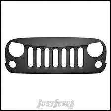 jeep grill logo angry jeep parts buy black mountain angry eyes grill for 07 jeep
