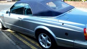 bentley azure for sale 1997 bentley azure convertible for sale www allsportscars co uk
