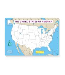 Map Of The United States Printable by U S Map Jumbo Pad Grade Pk 5 Carson Dellosa Publishing