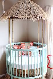 bedroom round cribs for cute baby bedroom design with unique