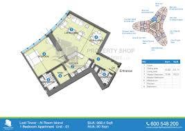 Residential Floor Plan by Floor Plan Leaf Tower Al Reem Island U2013 Al Reem Island