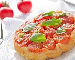 tarte tatin cuisine az recette tarte tatin tomates cerises et chèvre facile rapide