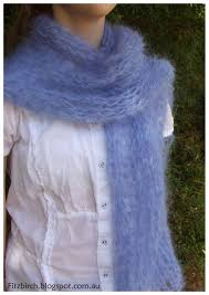 knitting pattern for angora scarf a simple but beautiful mohair scarf click through for free
