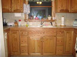 Staining Oak Cabinets Golden Oak Cabinets Good Solid Wood Kitchen Cabinets Made From