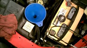 2001 dodge dakota 4 7l filling the engine coolant system youtube