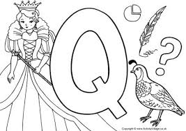 Letter Q Colouring Pages Coloring Pages Q