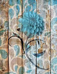 high resolution rustic interesting bedroom turquoise and brown wall unique rustic vintage brown blue decor