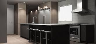 plan cuisine moderne de cuisine en 3d