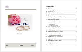 wedding plan template microsoft word templates