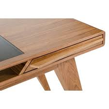 Modern Walnut Desk Domus Soria Modern Walnut Desk