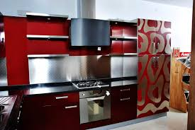 Kitchen Color Ideas With Maple Cabinets Modern Small Kitchen Color Design Ideas Red Grey And White
