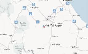 map of hat yai hat yai airport images
