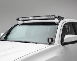 toyota tacoma light bar roof mount zroadz 2005 2017 toyota tacoma 40 led roof mount kit with 40 led
