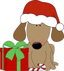 dogs decorating christmas tree clip art clip art library