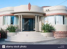 waterfall art deco style homes in a melbourne suburb usually