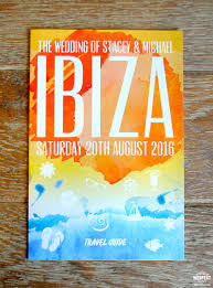 ibiza holiday brochure wedding invitation http www wedfest co