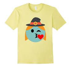 emoji halloween costume witch emoji t shirt heart kiss wink halloween costume gift u2013 vivutee