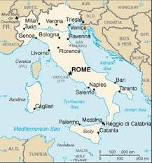 map of tunisia with cities list of cities in italy simple the free