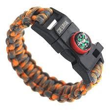 bracelet multi tool images Core survival paracord survival bracelet hiking multi tool jpg