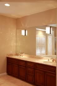 bathroom orange bamboo mirror airmaxtn