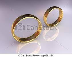 wedding rings together wedding rings separately two golden wedding rings together